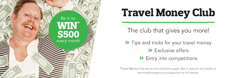 Join the travel money club
