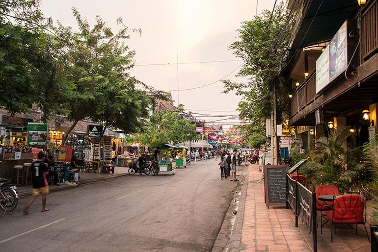 Cambodian street