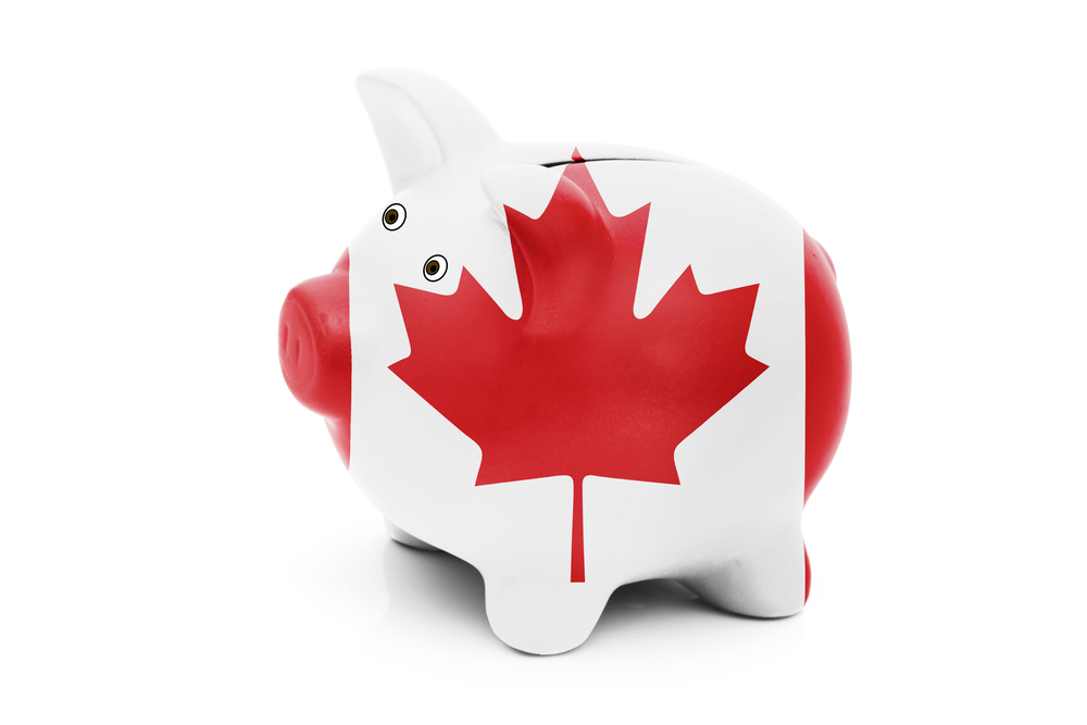 Canadian Piggy Bank