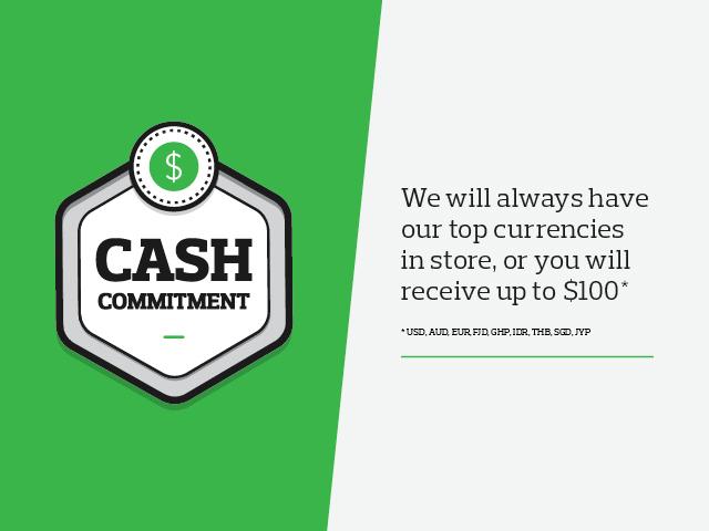Cash Commitment Travel Money Nz