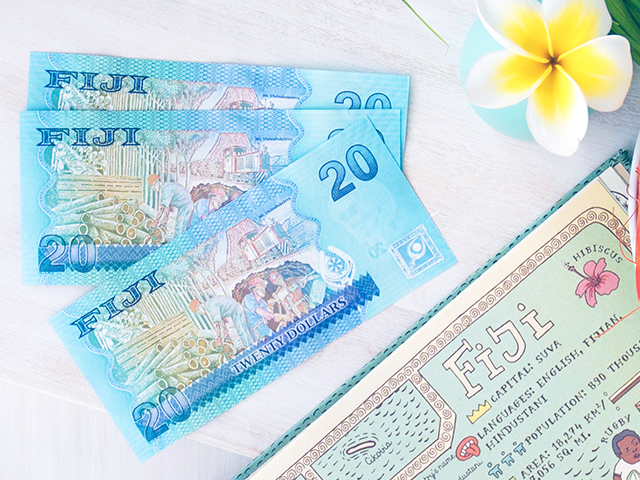 Fiji Dollars And Frangipani