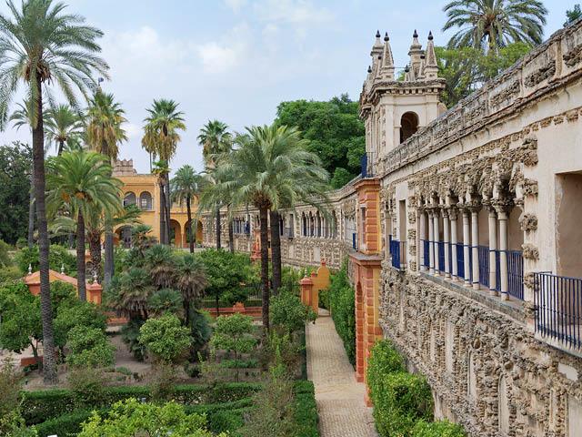 Real Alcazar Palace, Sevillle, Spain.