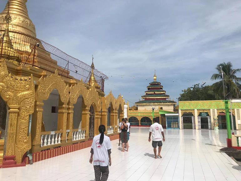 Temple in Myanmar