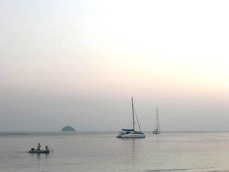 Sunset in Myanmar