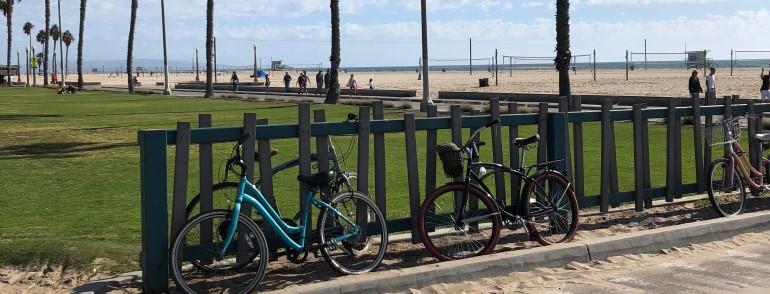 Bikes in Santa Monica