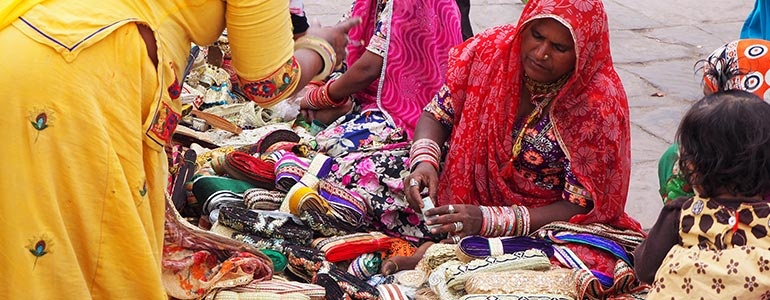 Purchase your souvenirs from local handicraft markets.