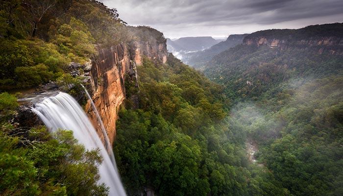 Australian waterfall