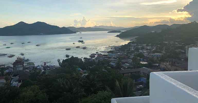 View of Coron