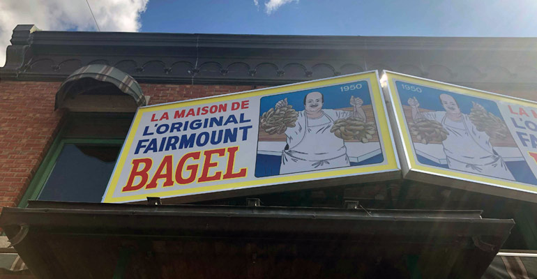 Fiarmont bagels