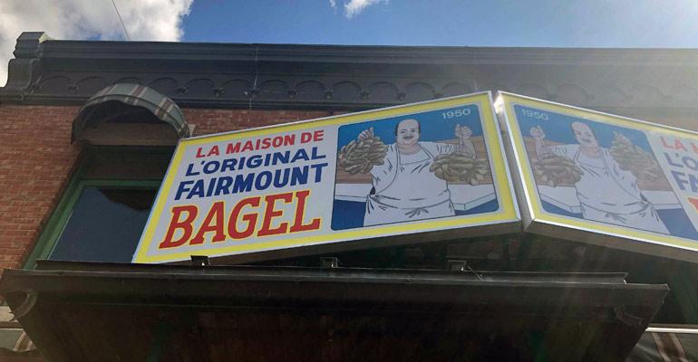Fiarmont bagels