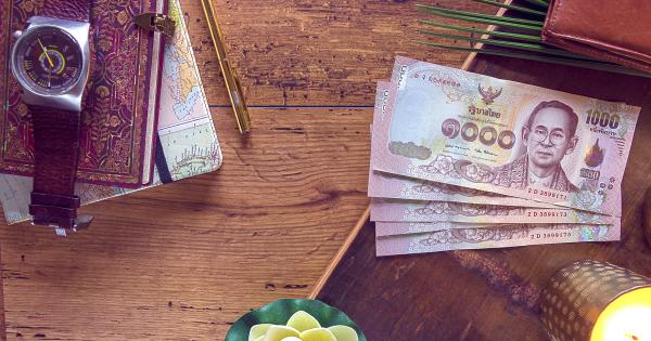 Thai baht cash