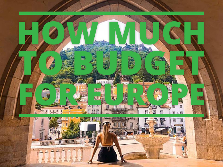 How much to budget for Europe
