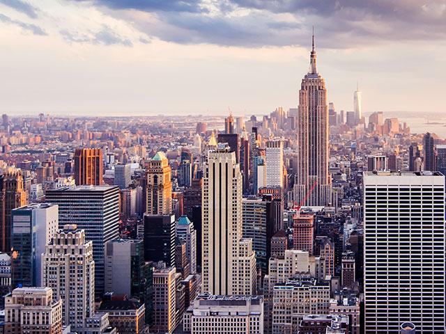 Image of American skyline cityscape
