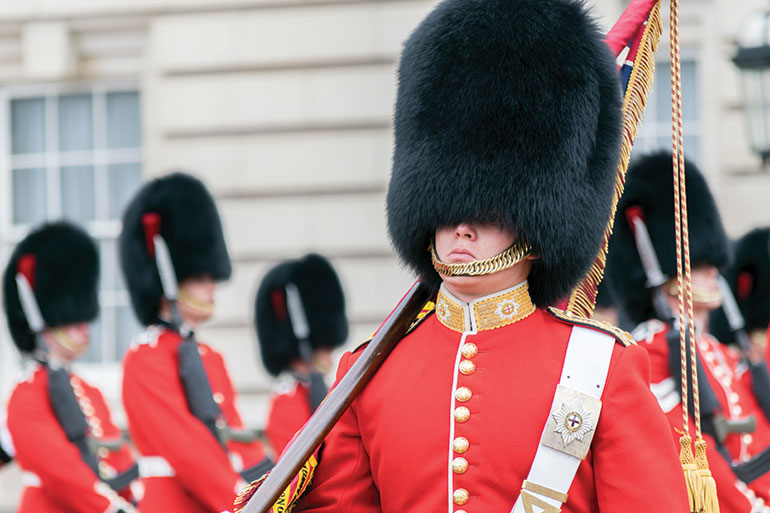 United Kingdom Buckingham palace guards