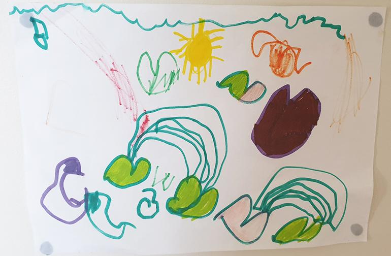 Vinnie art drawing
