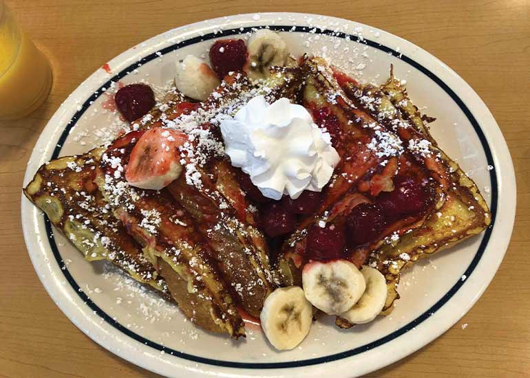 French toast from IHOP