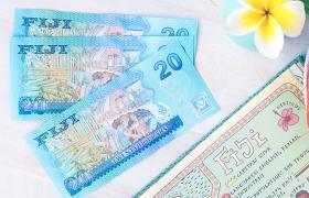 Fiji dollars and Frangipani