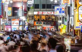 Japan broke vs baller -  Tokyo city lights