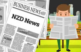 NZD News newspaper artwork